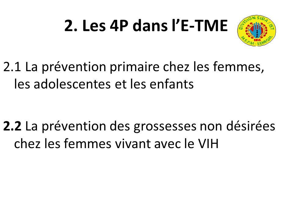 2. Les 4P dans l'E-TME