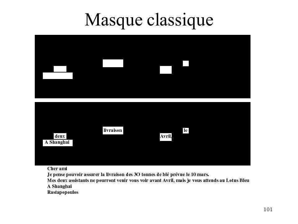 Masque classique