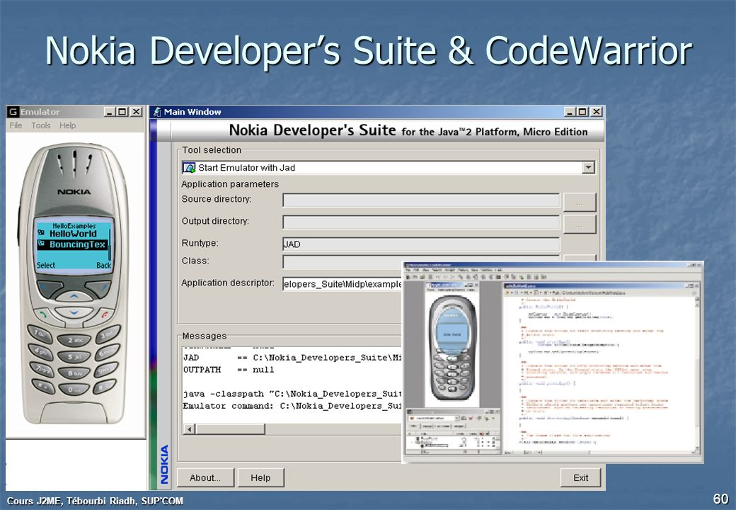 Nokia Developer's Suite & CodeWarrior