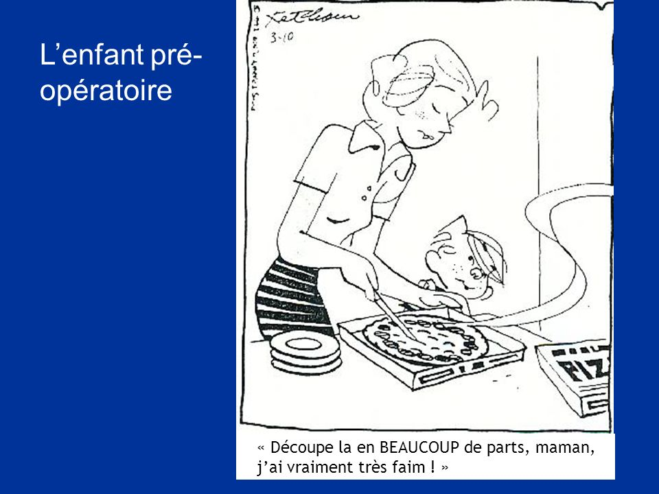 L'enfant pré-opératoire