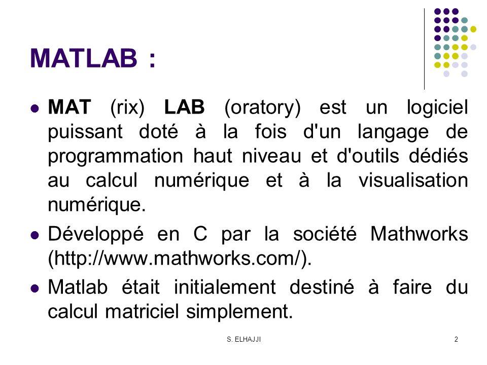MATLAB :