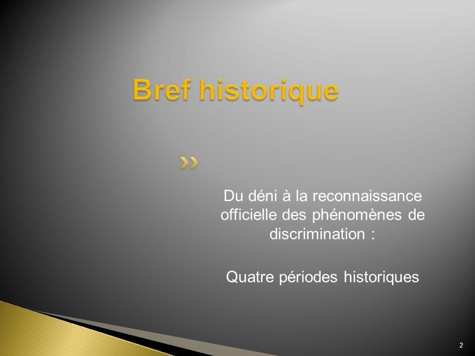 Quatre périodes historiques
