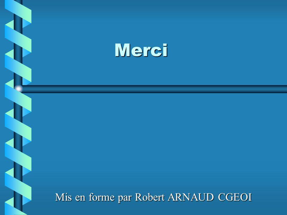 Merci Mis en forme par Robert ARNAUD CGEOI