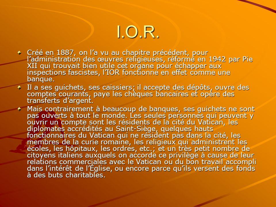 I.O.R.