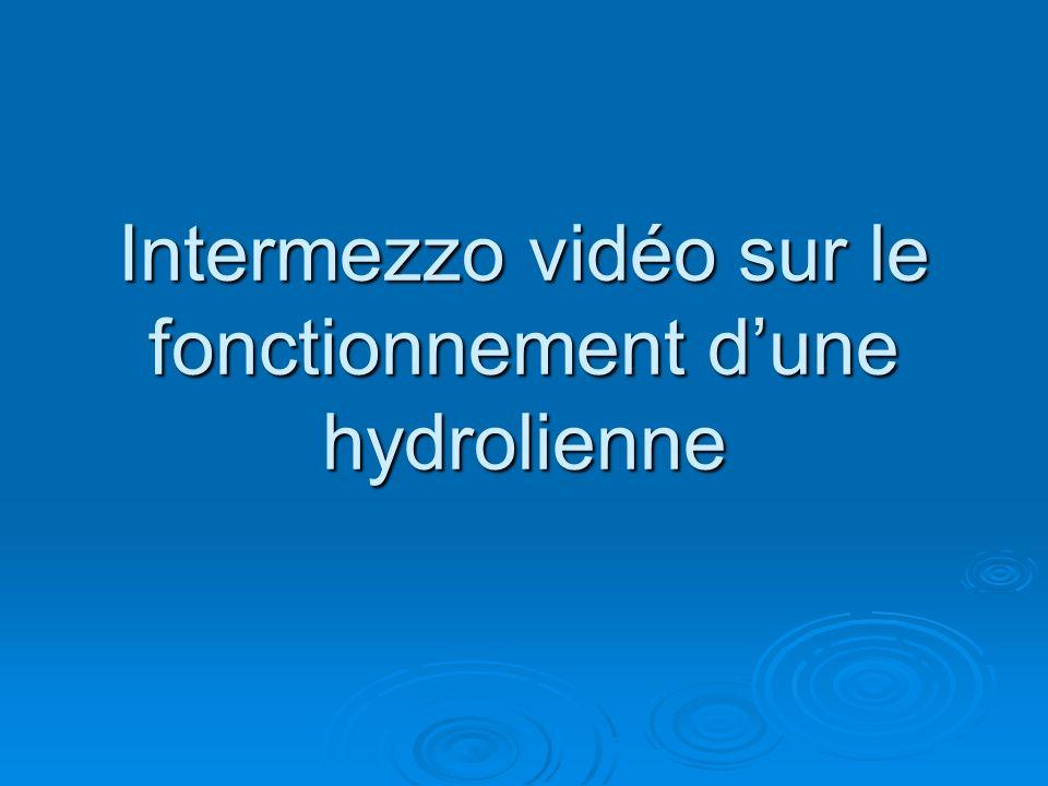 Intermezzo vidéo sur le fonctionnement d'une hydrolienne