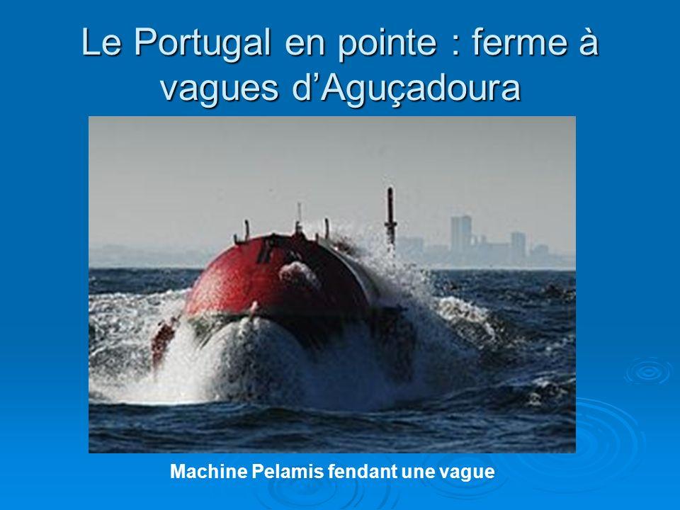 Le Portugal en pointe : ferme à vagues d'Aguçadoura