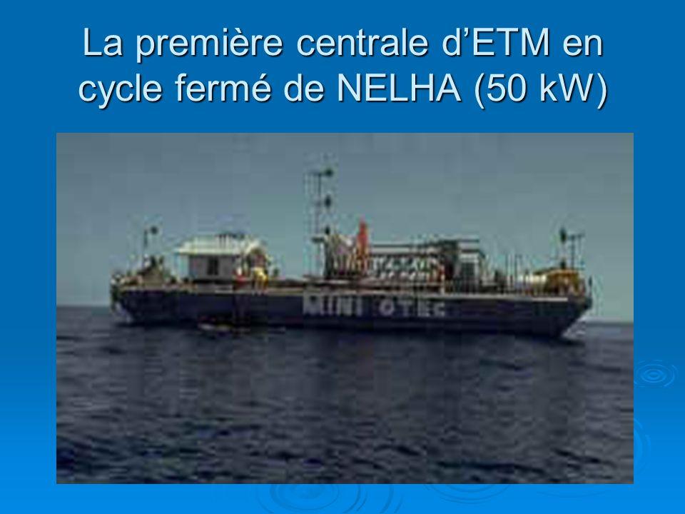 La première centrale d'ETM en cycle fermé de NELHA (50 kW)