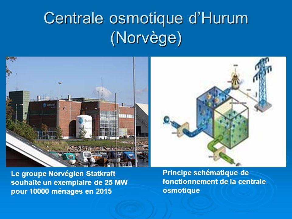 Centrale osmotique d'Hurum (Norvège)