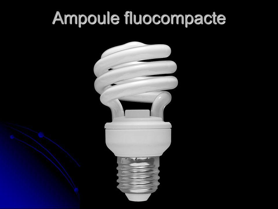 Ampoule fluocompacte