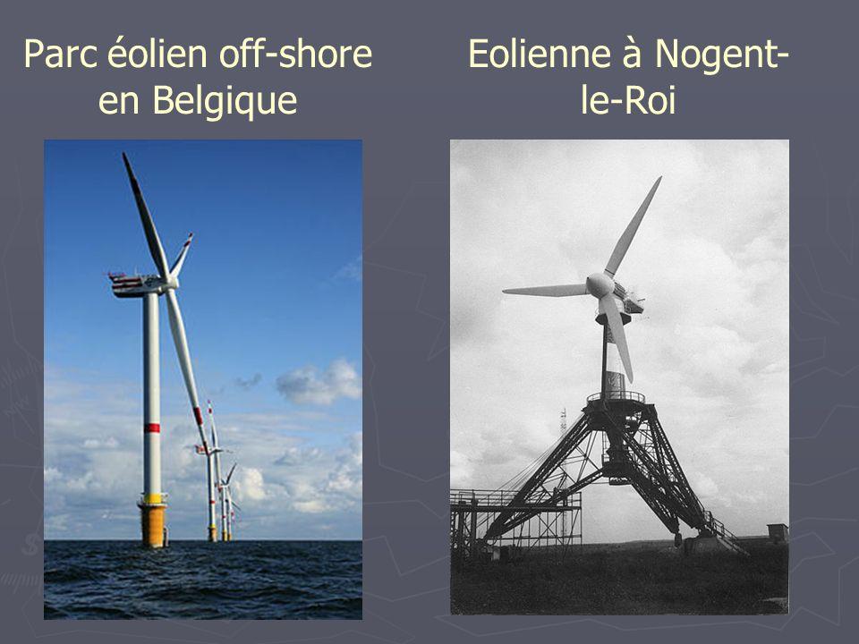 Parc éolien off-shore en Belgique