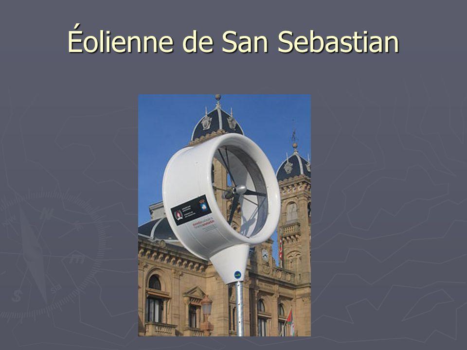 Éolienne de San Sebastian