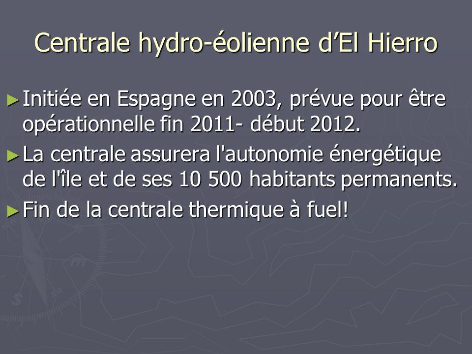 Centrale hydro-éolienne d'El Hierro