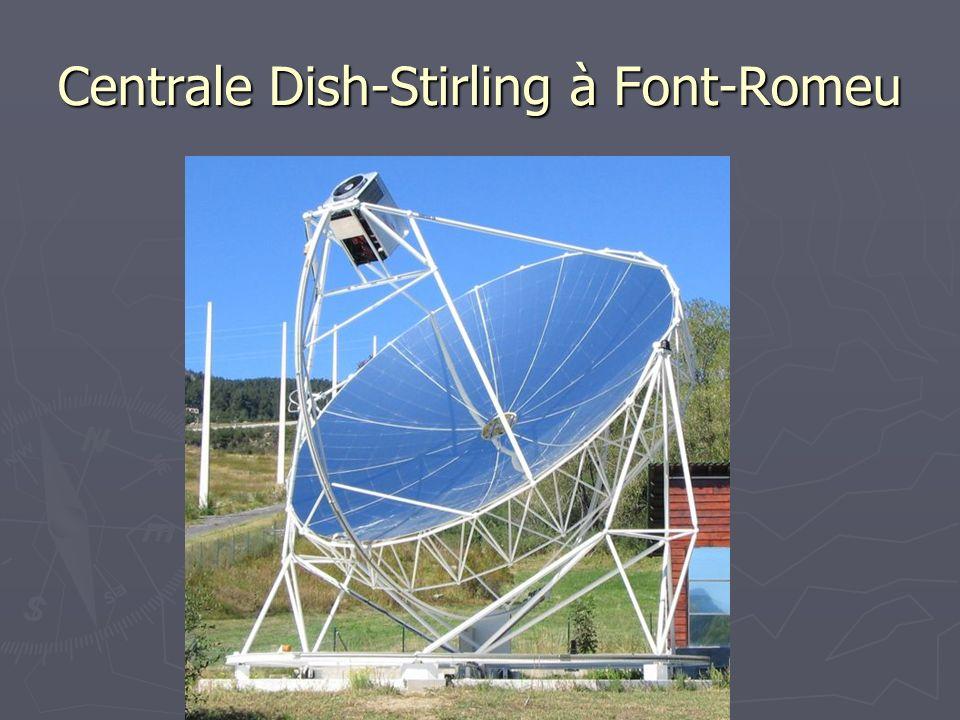 Centrale Dish-Stirling à Font-Romeu