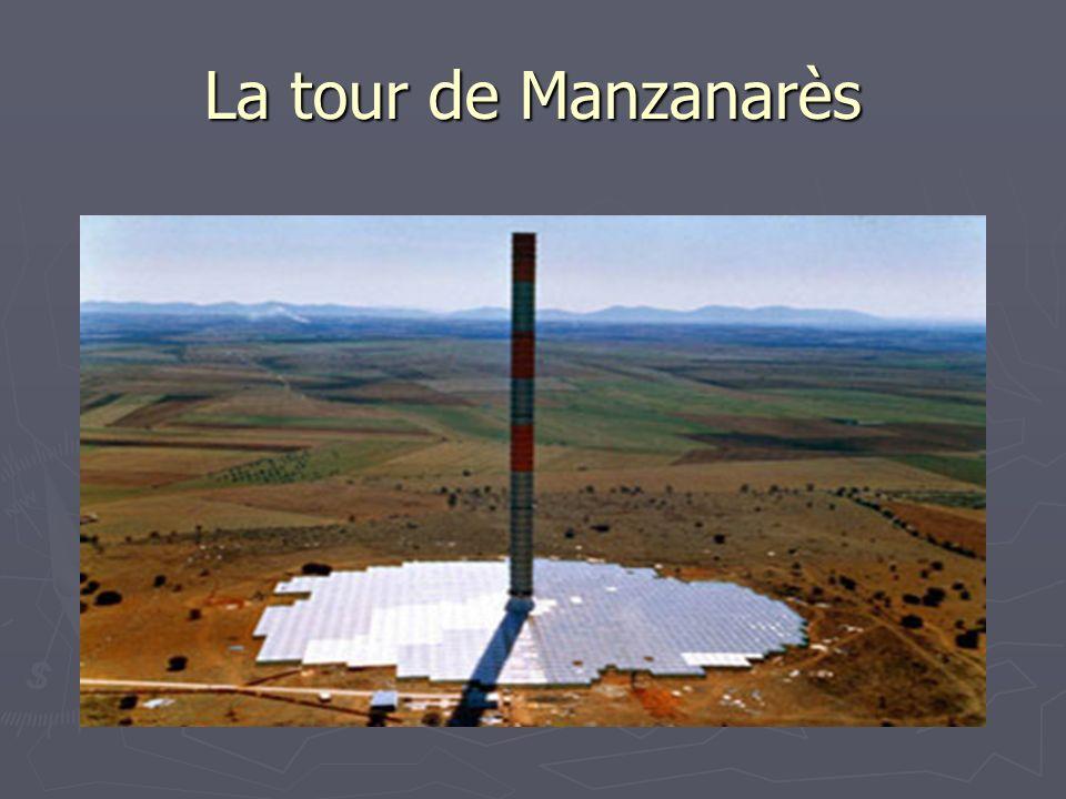 La tour de Manzanarès Surface au pied = 46000 m2