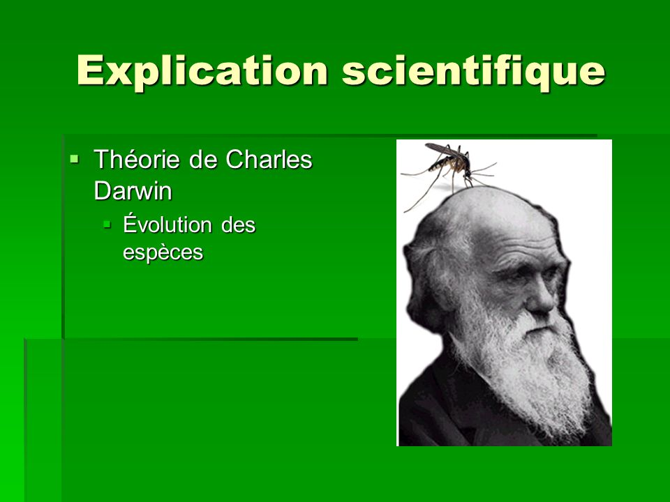 Explication scientifique
