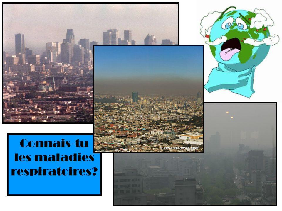 Connais-tu les maladies respiratoires