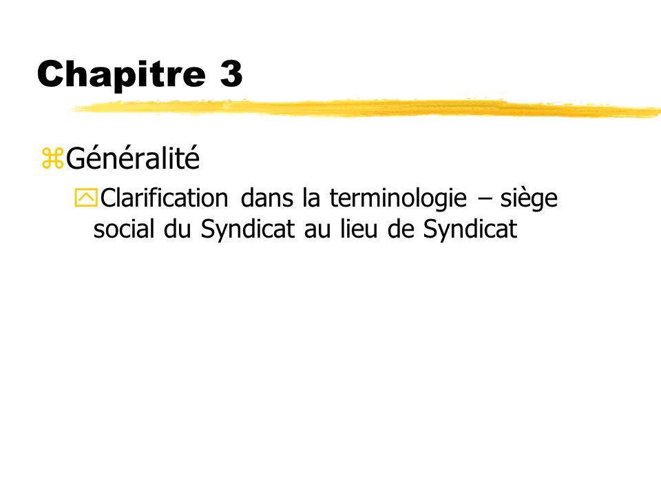 Chapitre 3 Généralité.