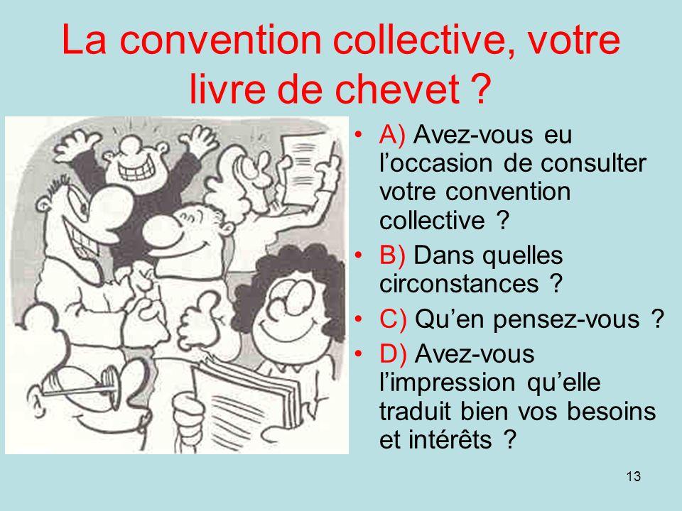 La convention collective, votre livre de chevet
