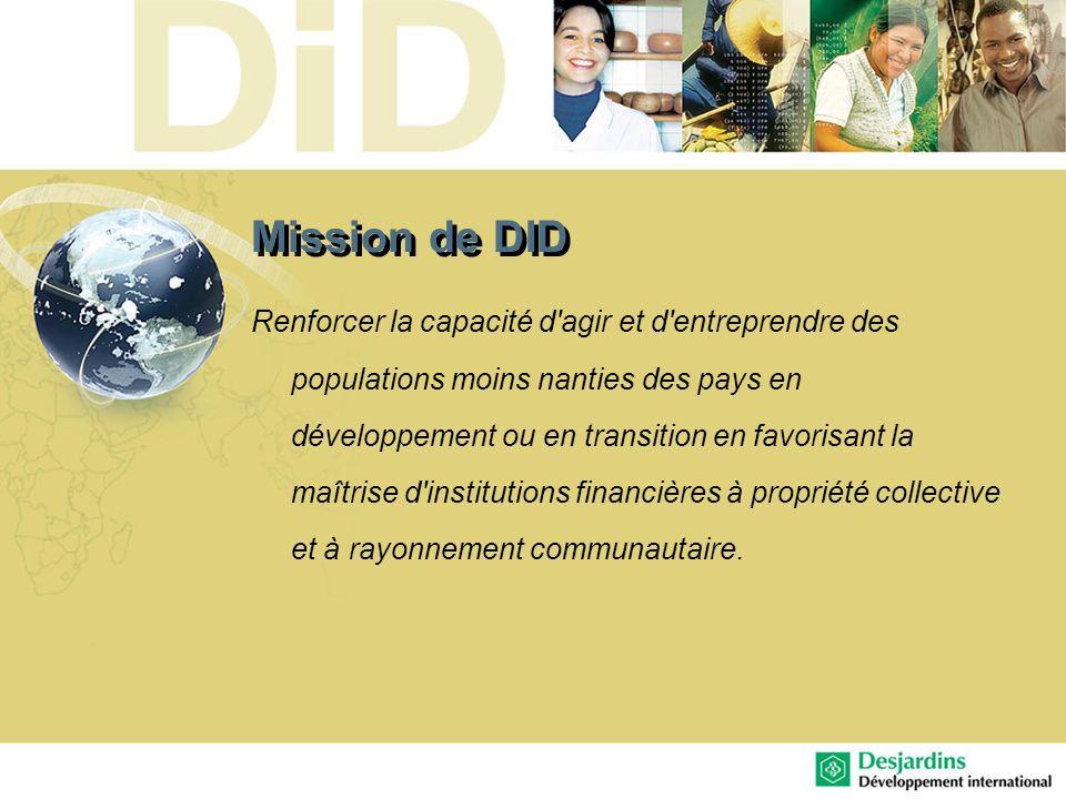 Mission de DID