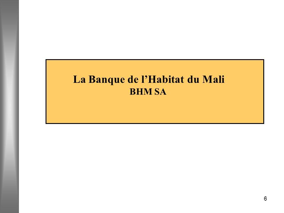 La Banque de l'Habitat du Mali