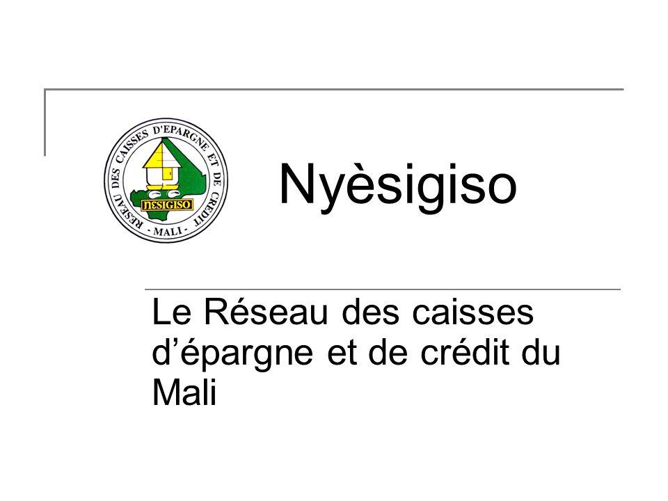Le Réseau des caisses d'épargne et de crédit du Mali