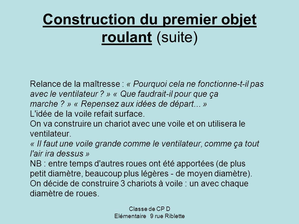 Classe de cp d el mentaire 9 rue riblette ppt video for Construction suite online