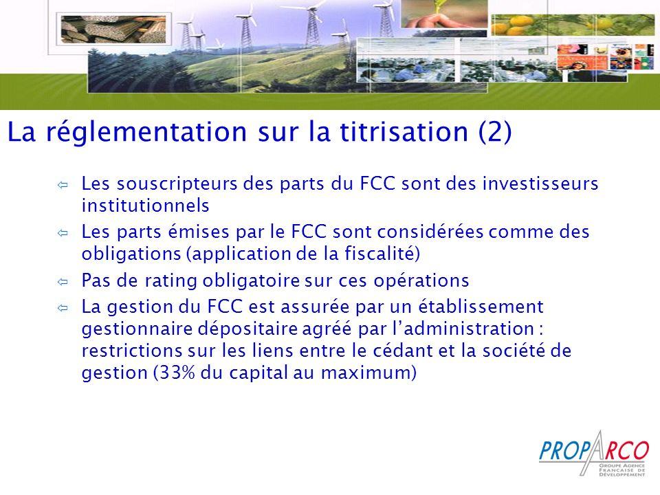 La réglementation sur la titrisation (2)