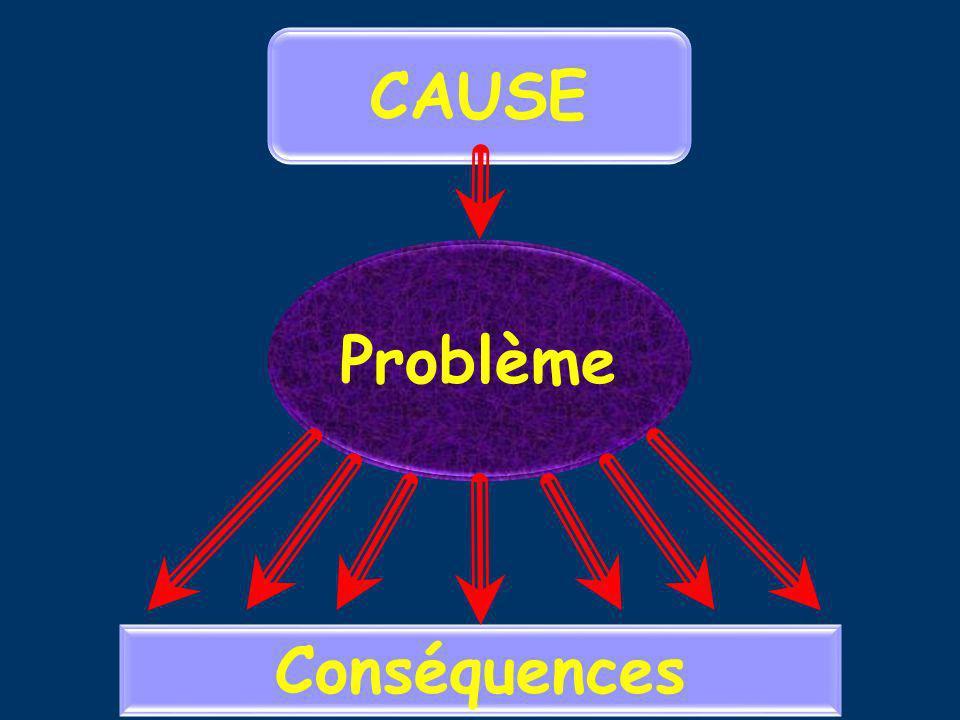CAUSE Problème Conséquences