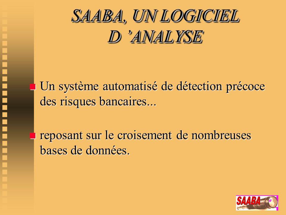 SAABA, UN LOGICIEL D 'ANALYSE