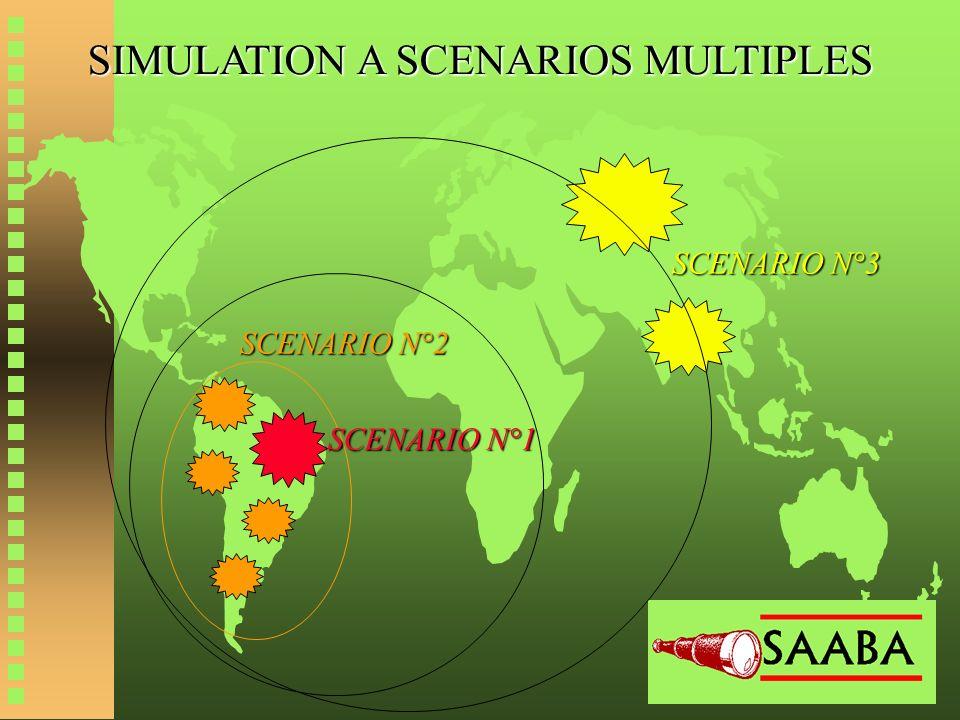SIMULATION A SCENARIOS MULTIPLES