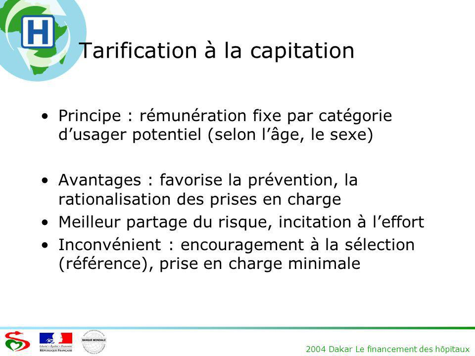 Tarification à la capitation
