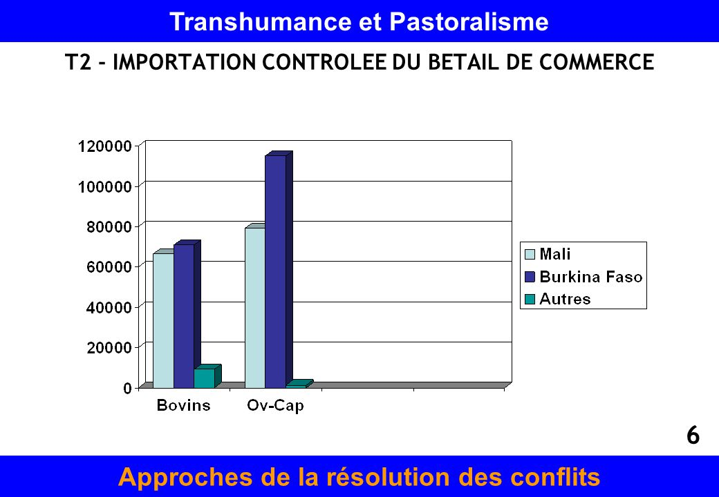 T2 - IMPORTATION CONTROLEE DU BETAIL DE COMMERCE