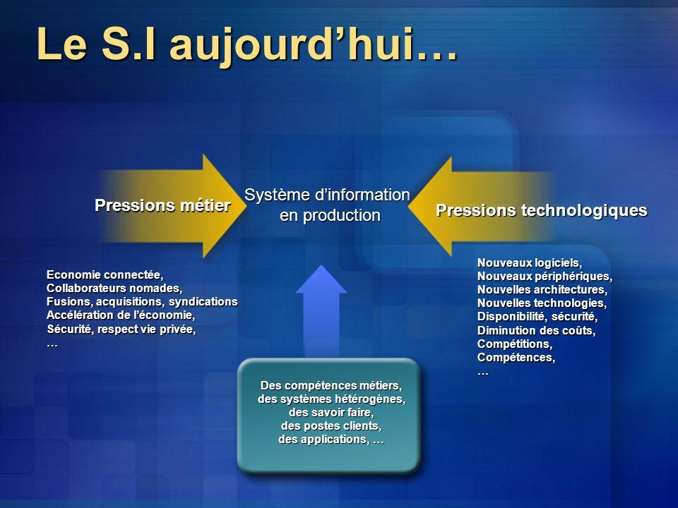 Des compétences métiers, des systèmes hétérogènes,