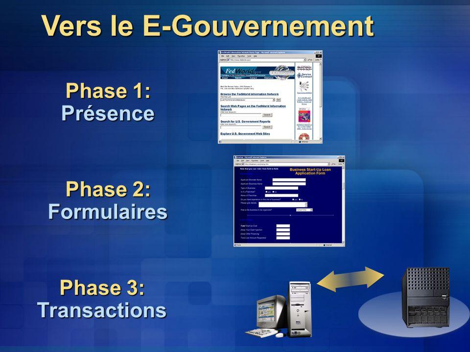 Vers le E-Gouvernement