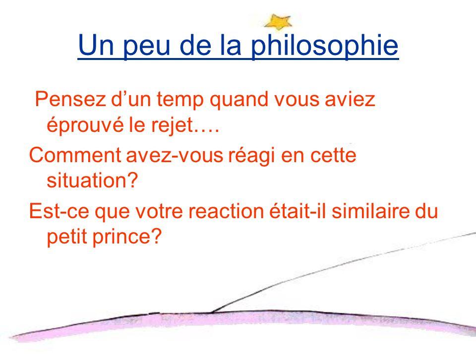 Un peu de la philosophie