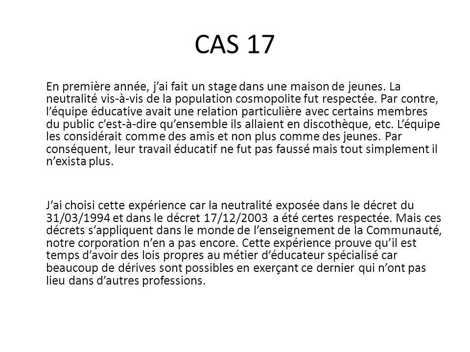 CAS 17