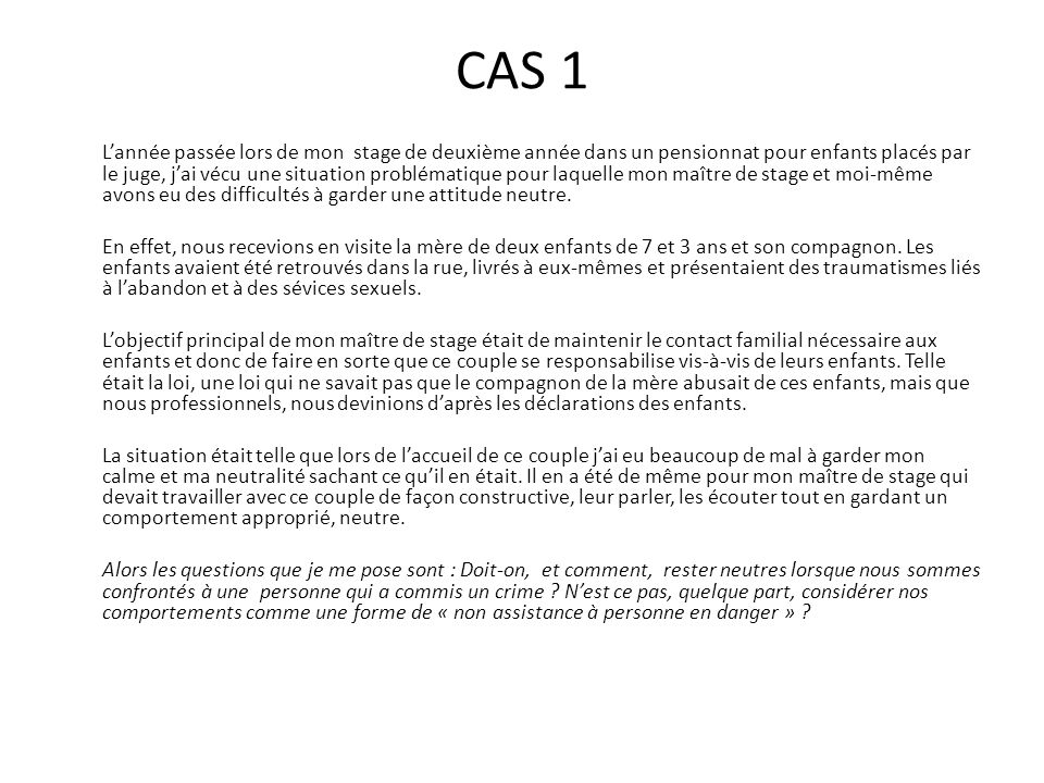 CAS 1