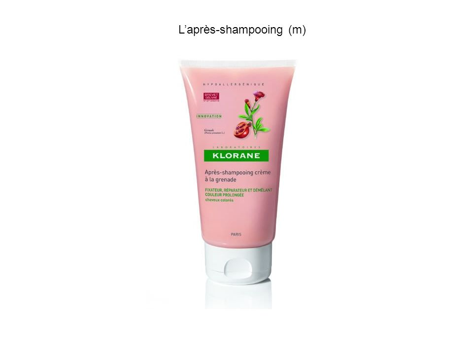 L'après-shampooing (m)