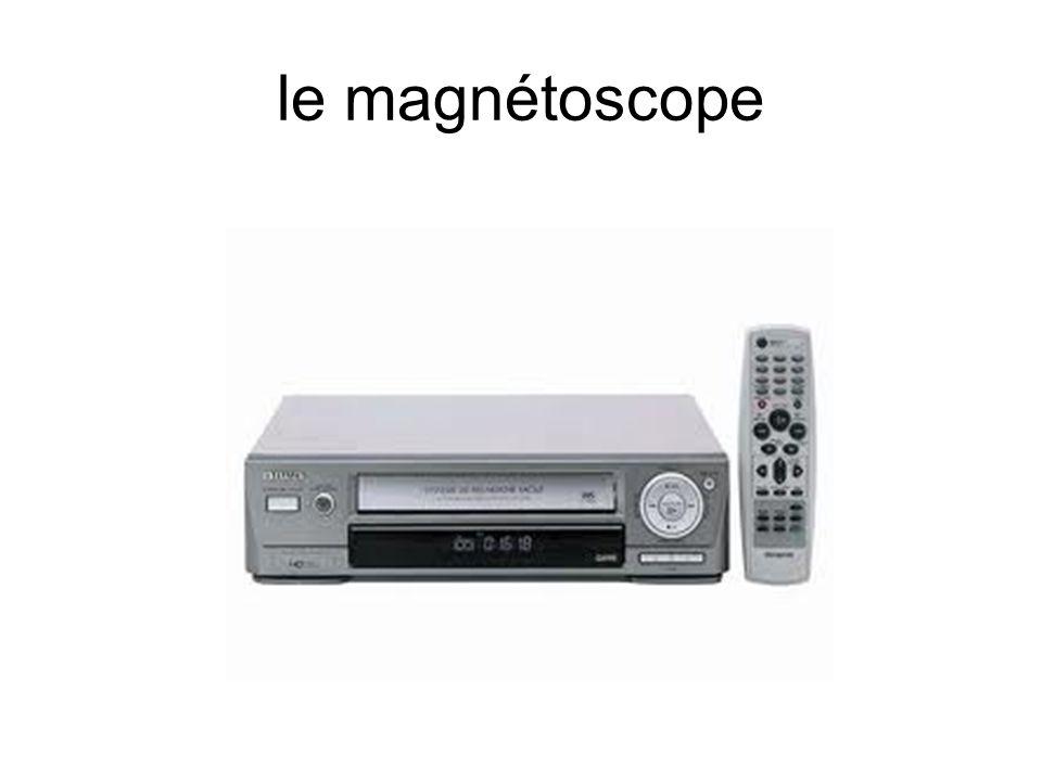 le magnétoscope