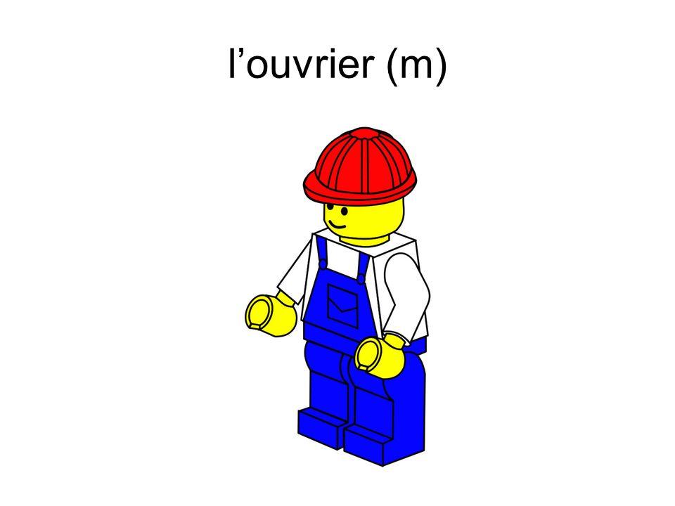 l'ouvrier (m)