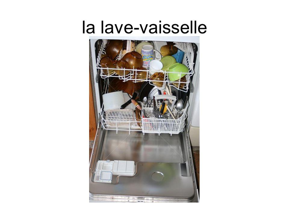 la lave-vaisselle