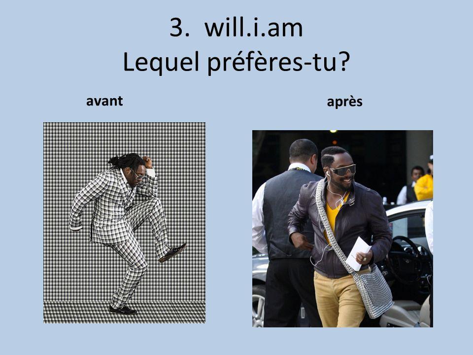 3. will.i.am Lequel préfères-tu