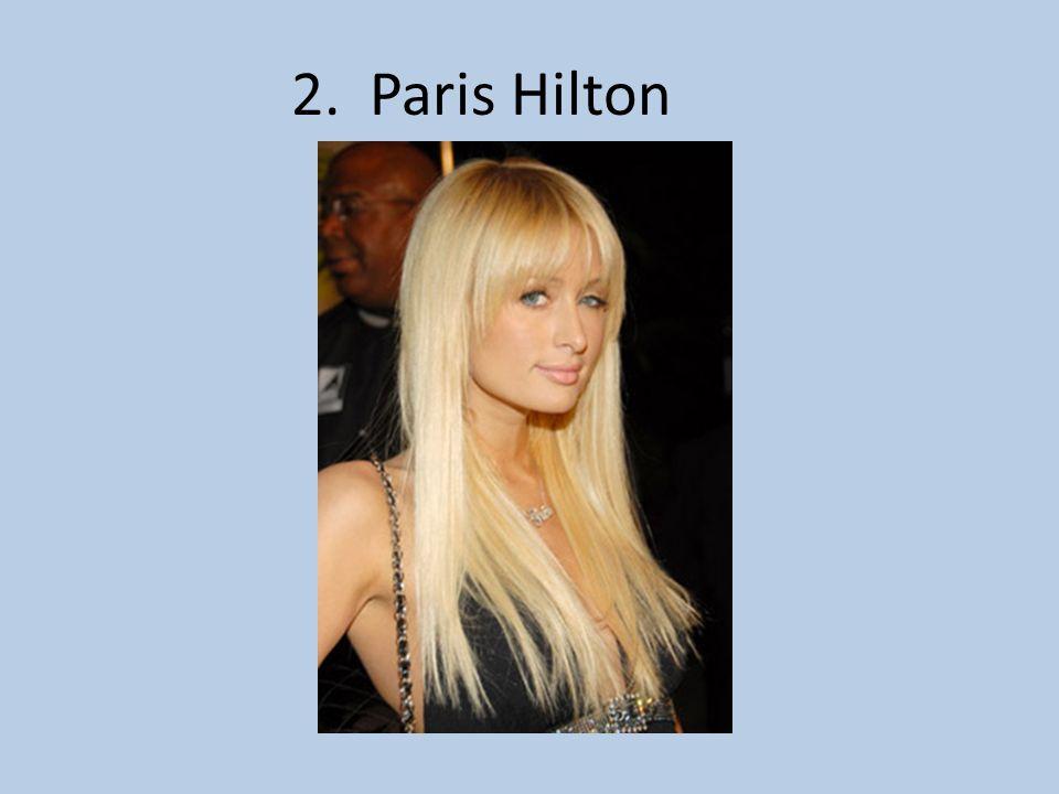 2. Paris Hilton