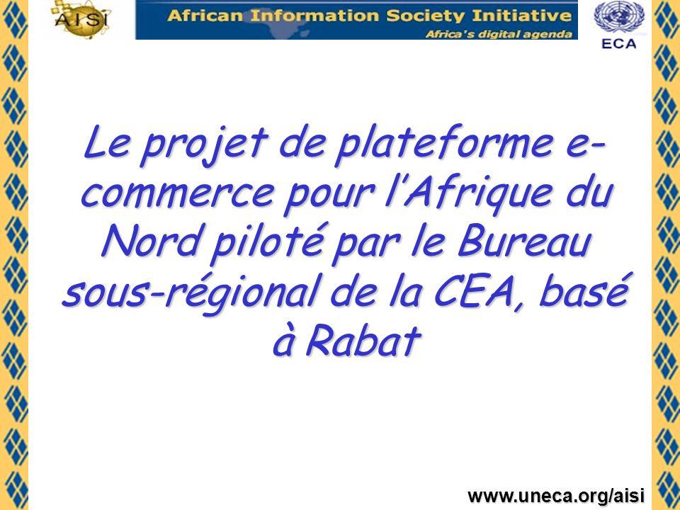 Le projet de plateforme e-commerce pour l'Afrique du Nord piloté par le Bureau sous-régional de la CEA, basé à Rabat