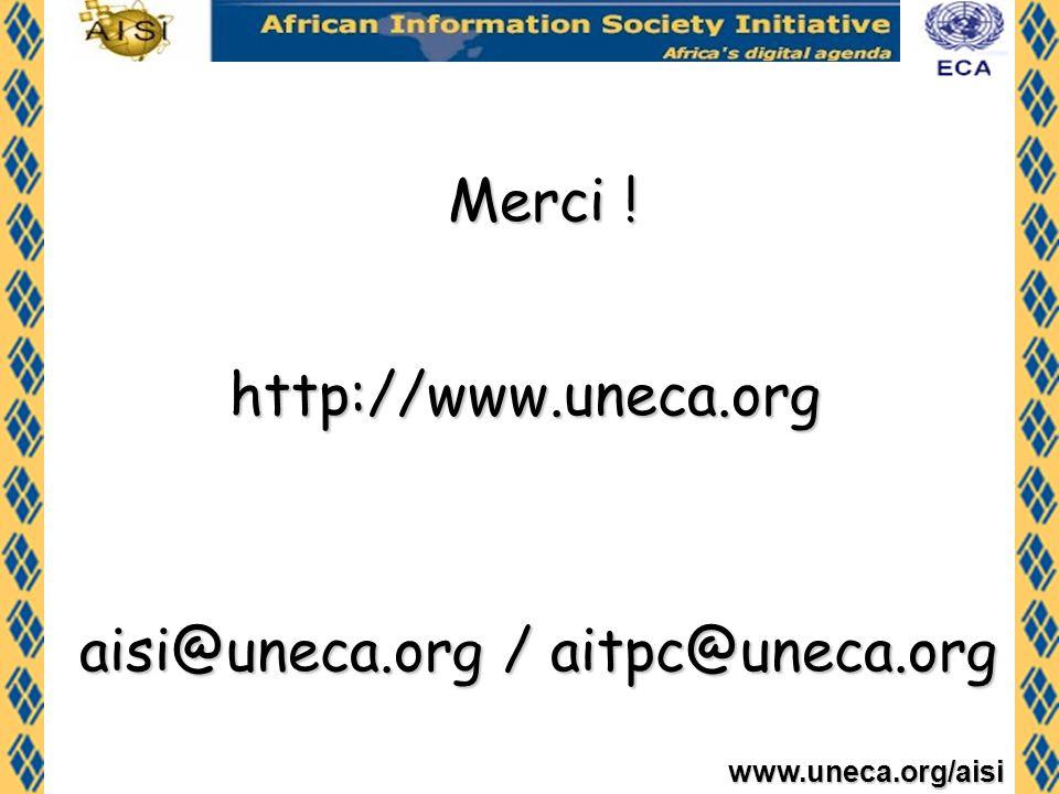 aisi@uneca.org / aitpc@uneca.org