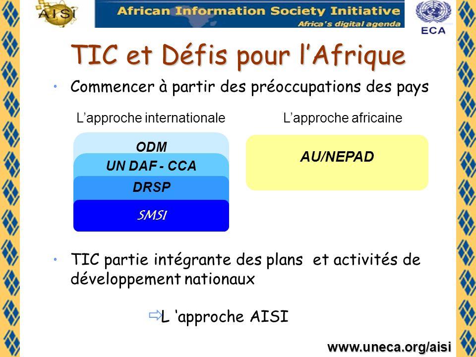 TIC et Défis pour l'Afrique