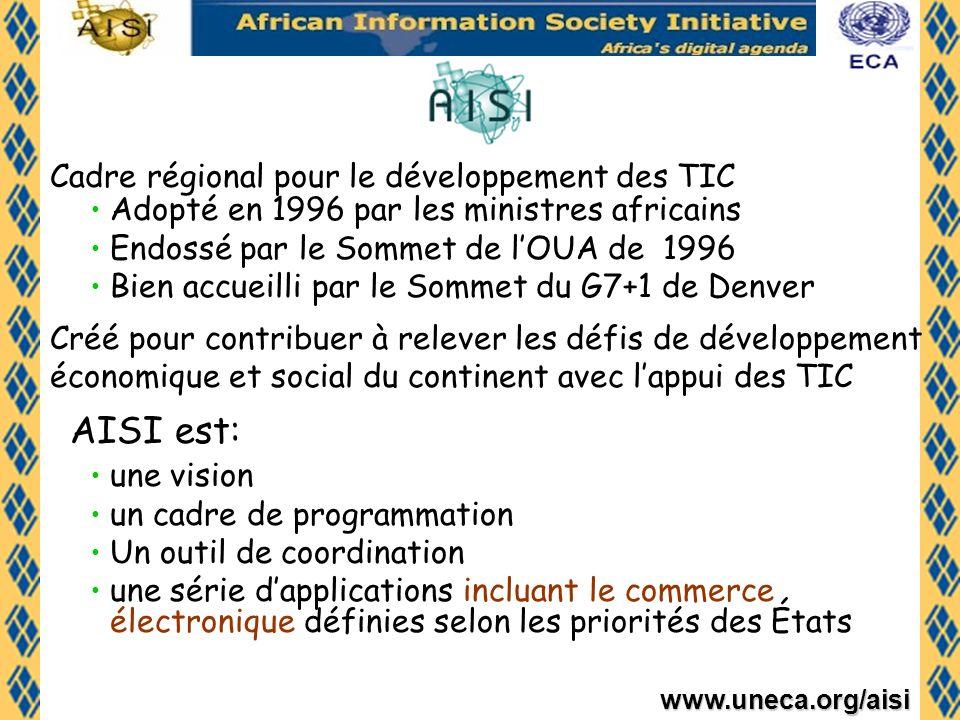 AISI est: Cadre régional pour le développement des TIC