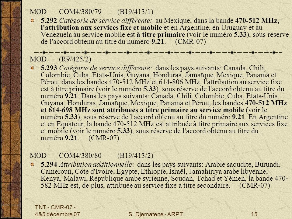 MOD COM4/380/79 (B19/413/1)