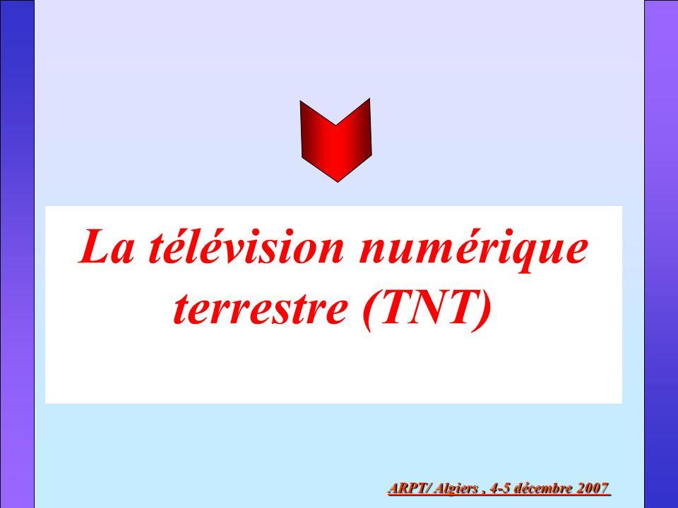La télévision numérique terrestre (TNT)
