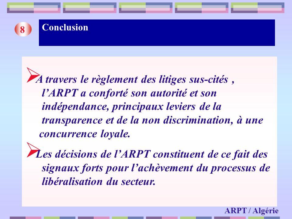 Conclusion 8.